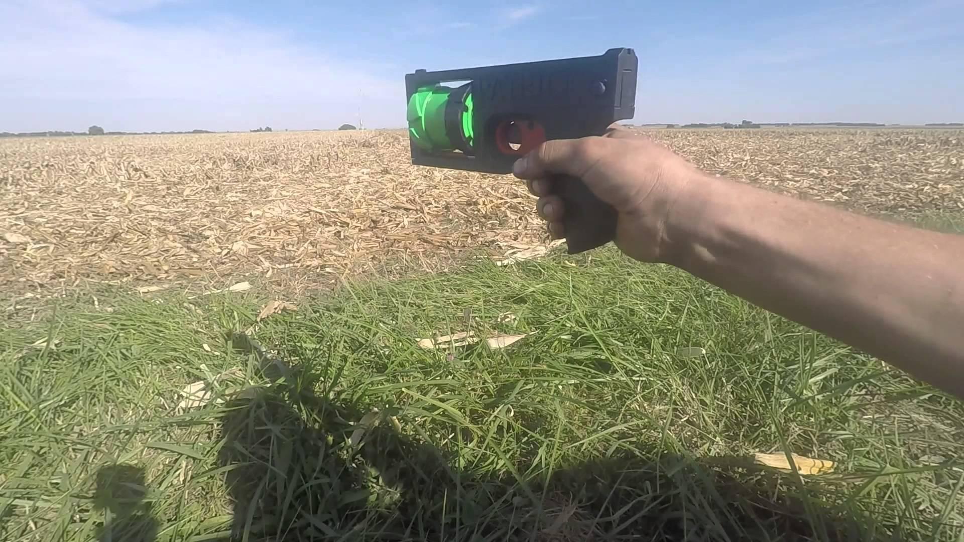 Un designer a facut un revolver printat 3D