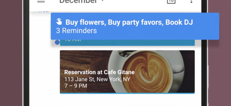 Calendarul Google are in sfarsit memento-uri