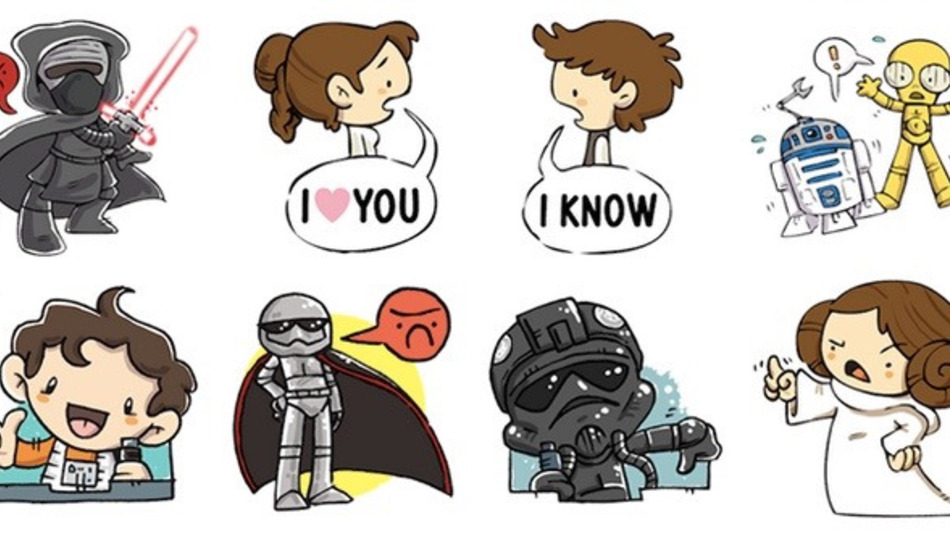 Facebook a lansat stickere Star Wars