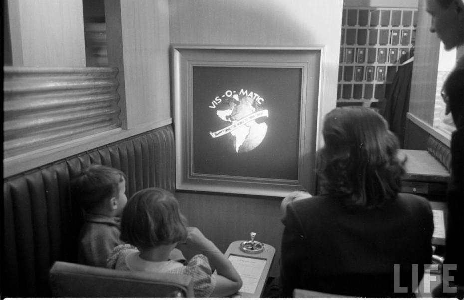 Cumparaturi online in anul 1950