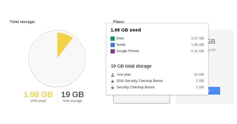 Google promite inca 2Gb spatiu pe Google Drive