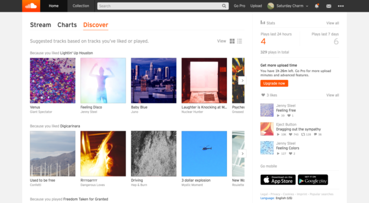 SoundCloud adauga o noua functie