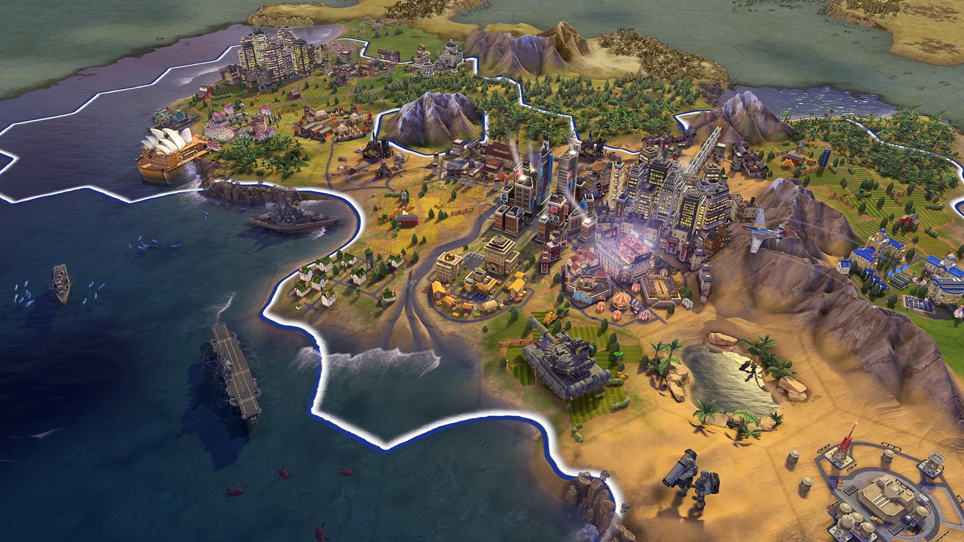 Actualizare Civilization VI – DirectX 12 + content nou
