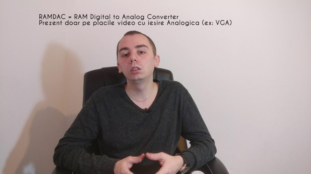 Despre VRAM si GDDR (+ video in sub 3 minute)
