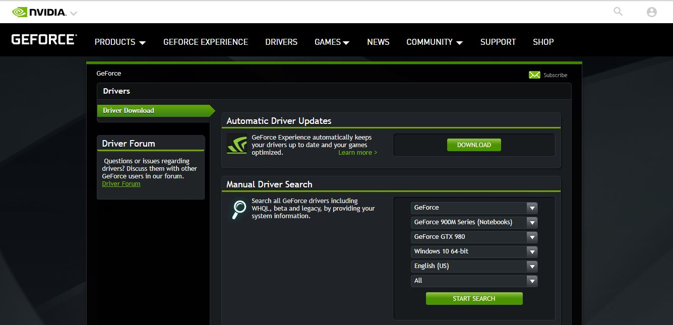 Nvidia nu mai lanseaza drivere noi pentru sistemele de operare pe 32bit