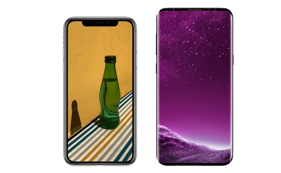 Test de rezistenta – Samsung Galaxy S9+ vs Iphone X