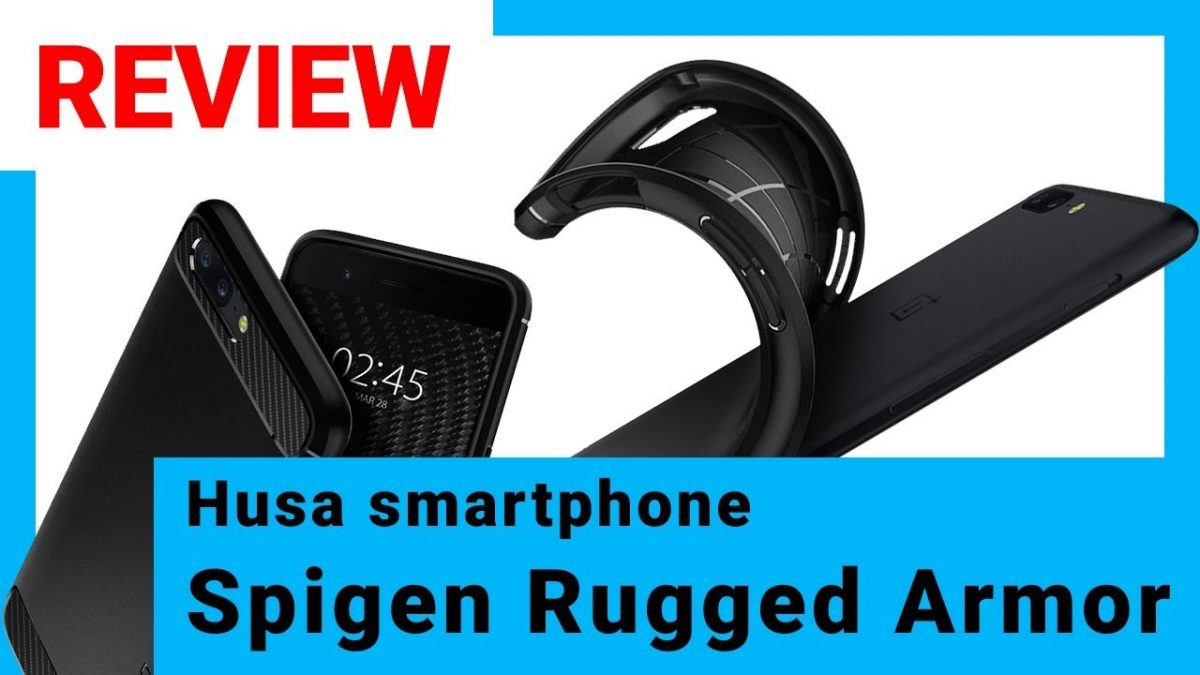 Review Spigen Rugged Armor – husa smartphone