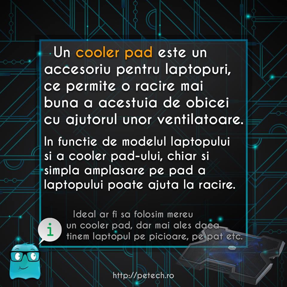 Ce este un cooler pad?