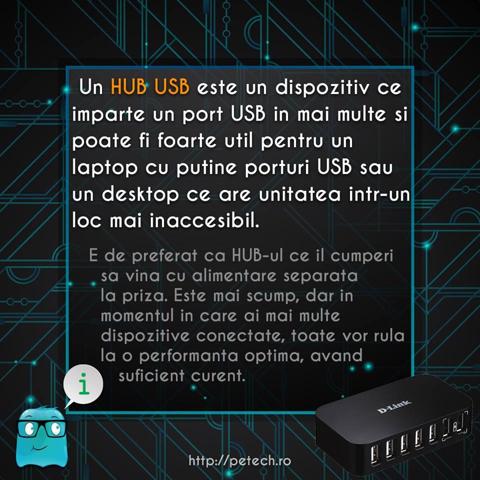 Ce este un HUB USB?