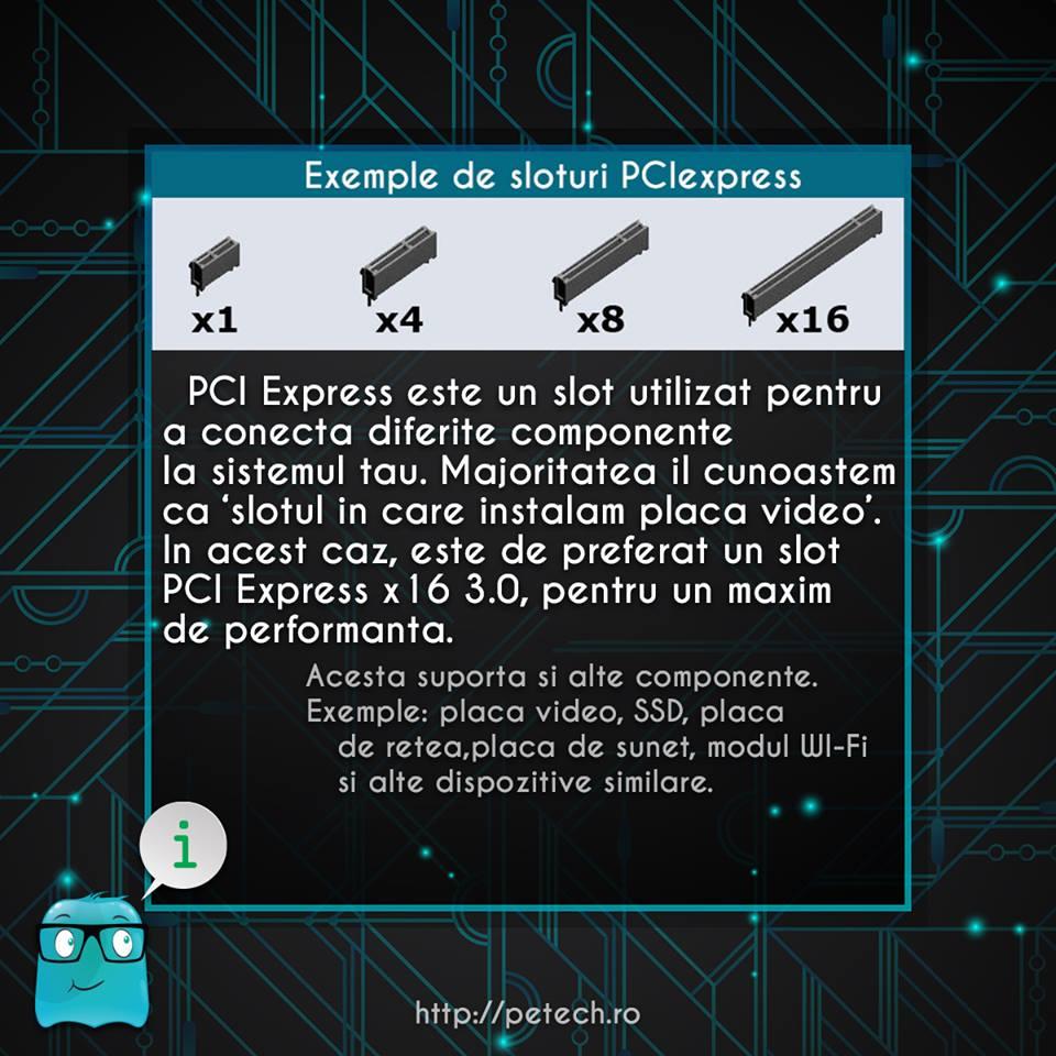 Ce este slotul PCIexpress?