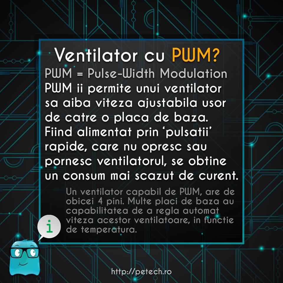 Ventilator cu PWM?
