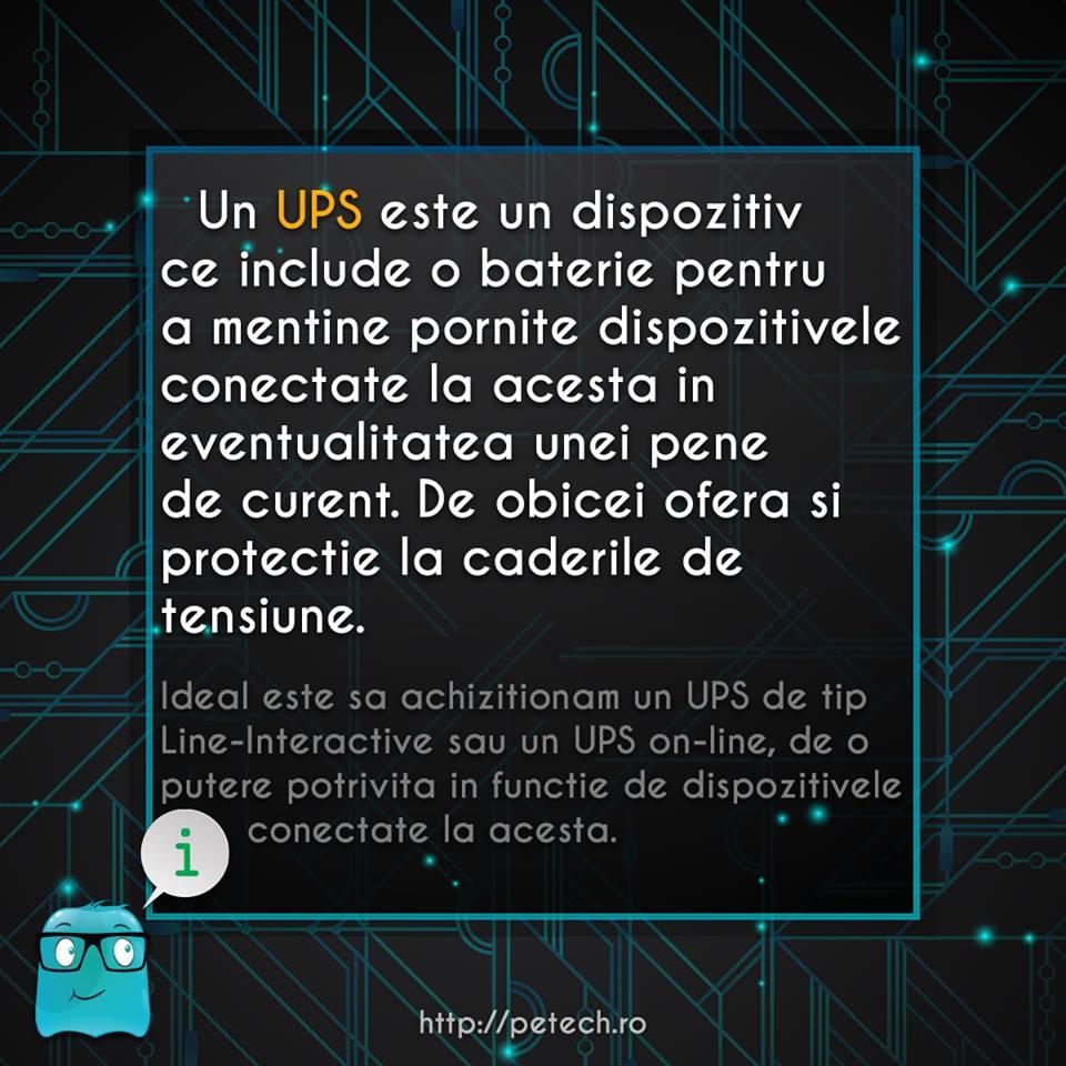 Ce este un UPS?