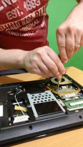 laptop lenovo - curatare si schimbare pasta termoconductoare