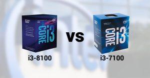 Merita sa platesti mai mult pentru o generatie mai noua de procesoare? i3-8100 vs i3-7100