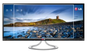 aspect ratio monitor
