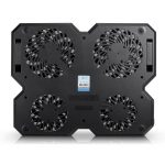 cooler laptop deepcool x6 ventilatoare multiple negru