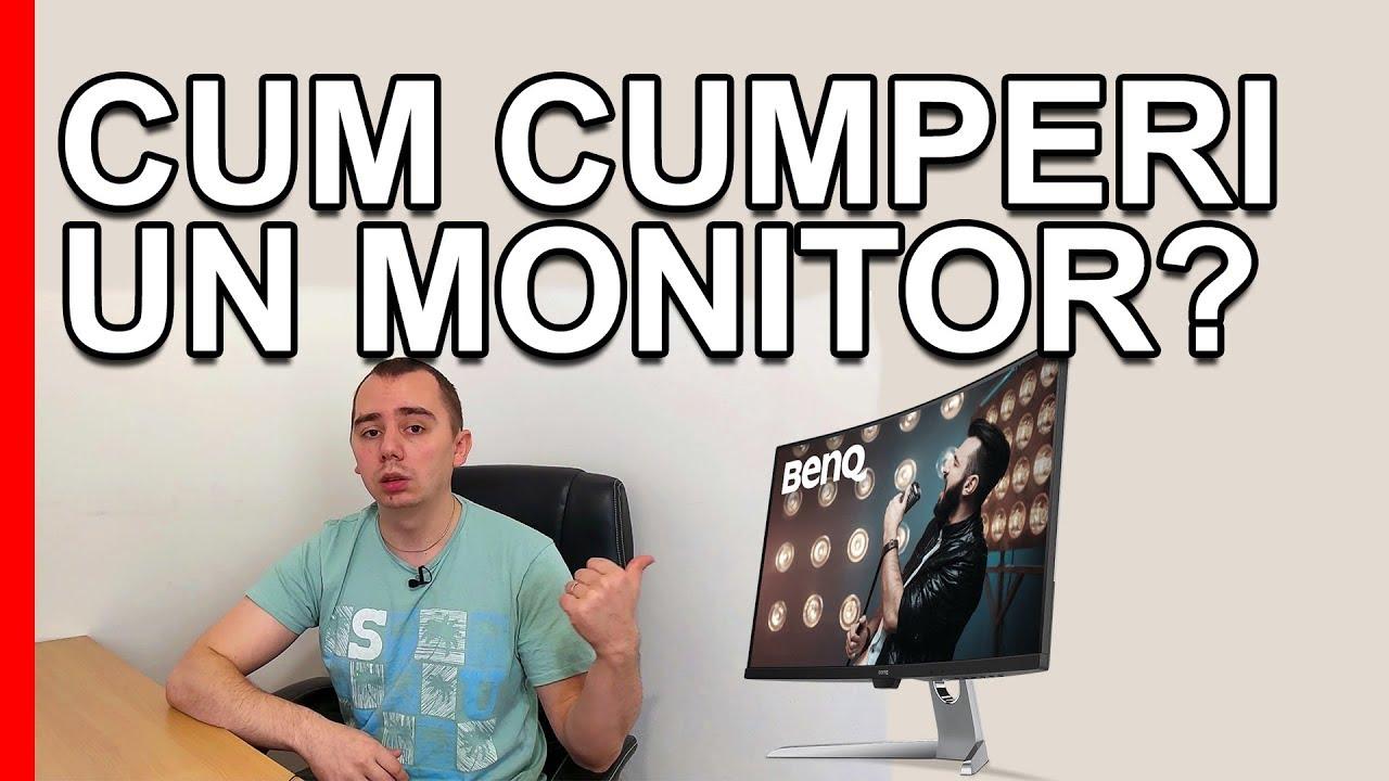 Cum cumpar un monitor? 14 lucruri pe care trebuie sa le stii