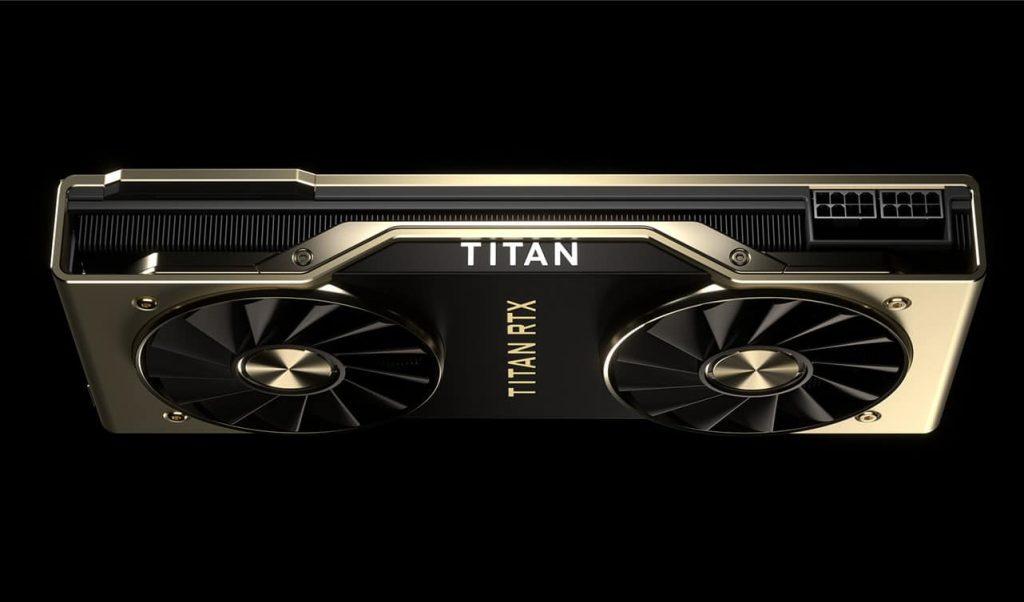 nvidia titan rtx placa video