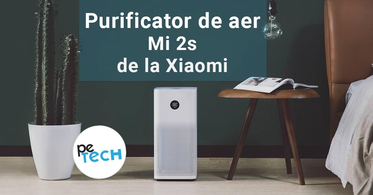 Xiaomi a scos noul purificator de aer Mi 2s