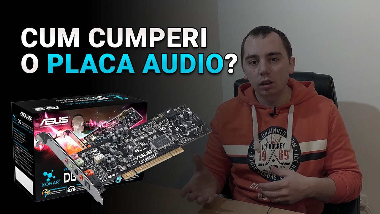 Cum cumparam o placa audio interna?