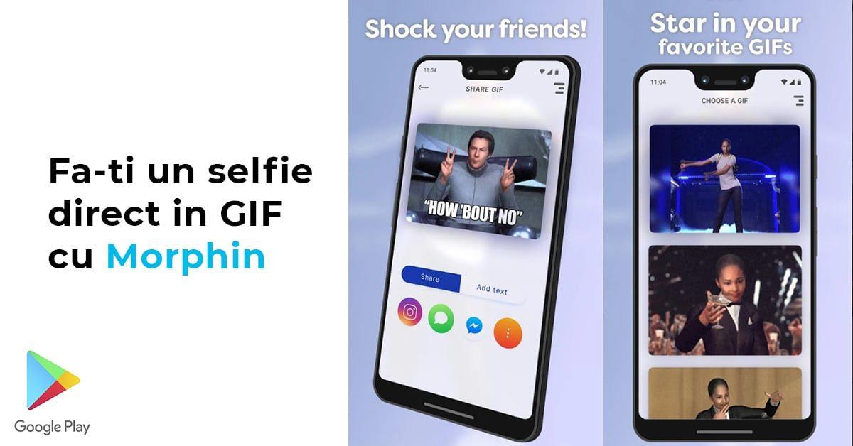 Morphin – pune-ti fata intr-un GIF sau meme prin tehnologia deepfake