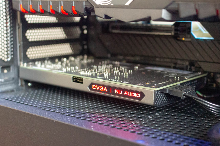 EVGA NU Audio – placa audio de la EVGA