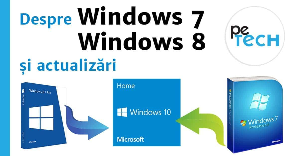 Windows 7 nu mai primeste actualizari