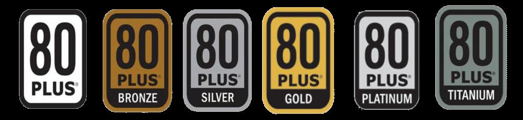 tipuri de certificari 80 plus pentru surse