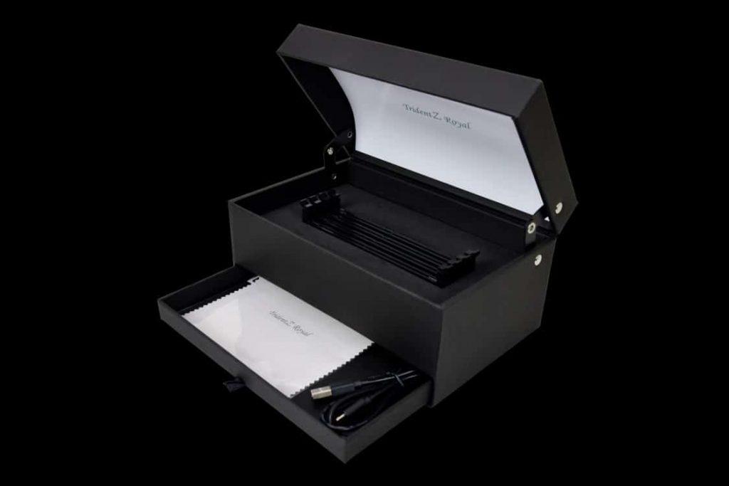 cutie pentru memorii ram display box