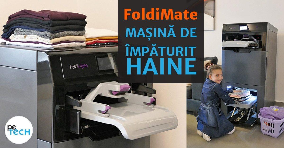 FoldiMate – masina de impaturit haine