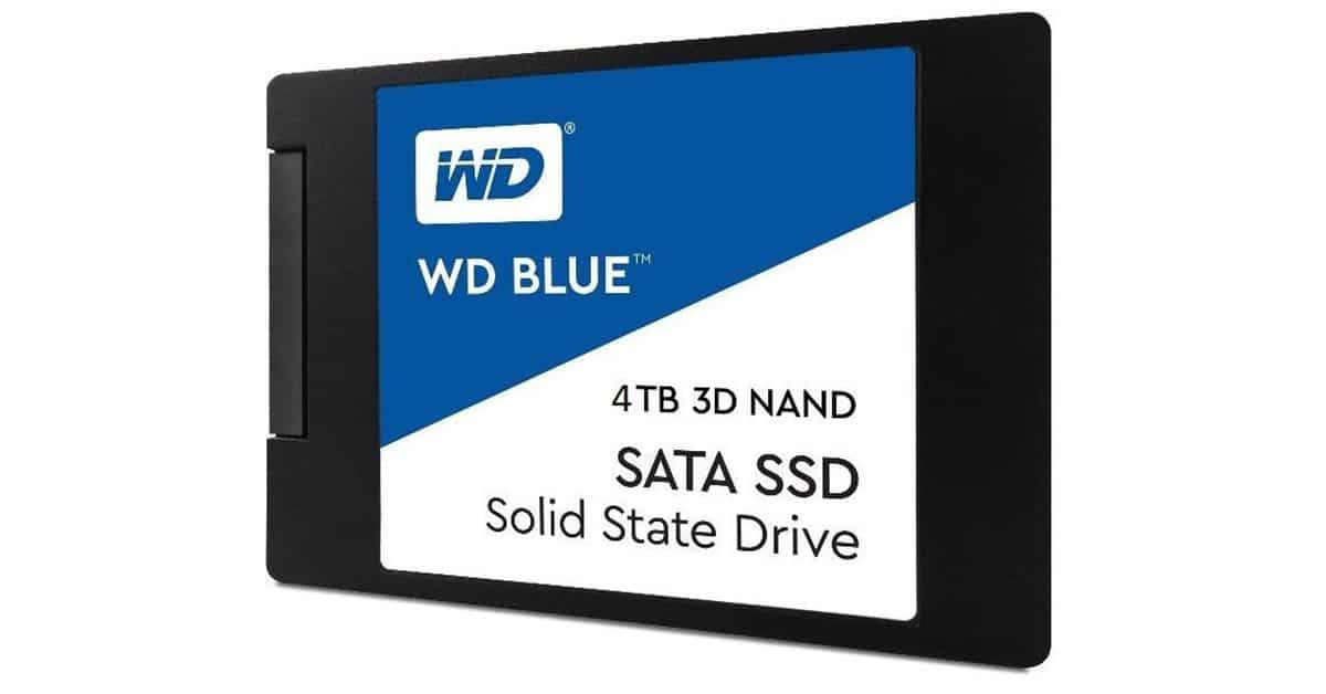SSD 4TB – Western Digital Blue 3D