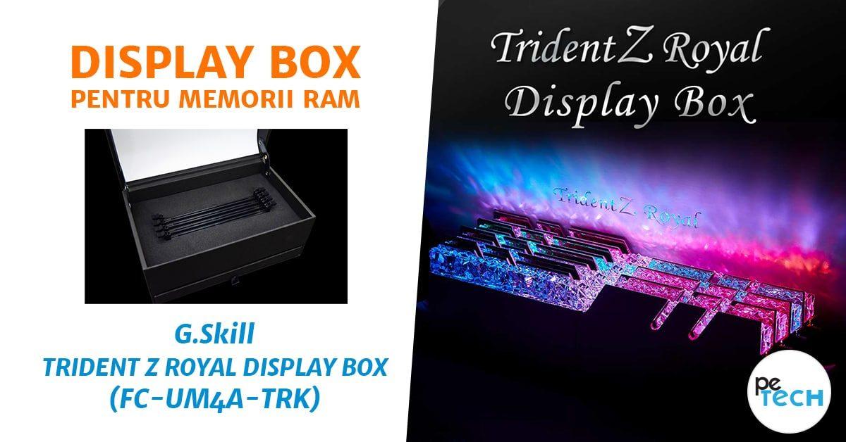Display Box pentru memorii RAM