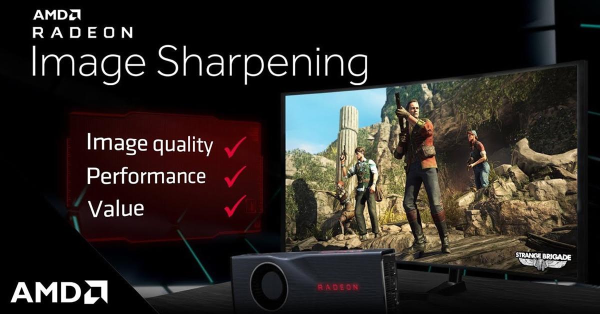 AMD Radeon Image Sharpening