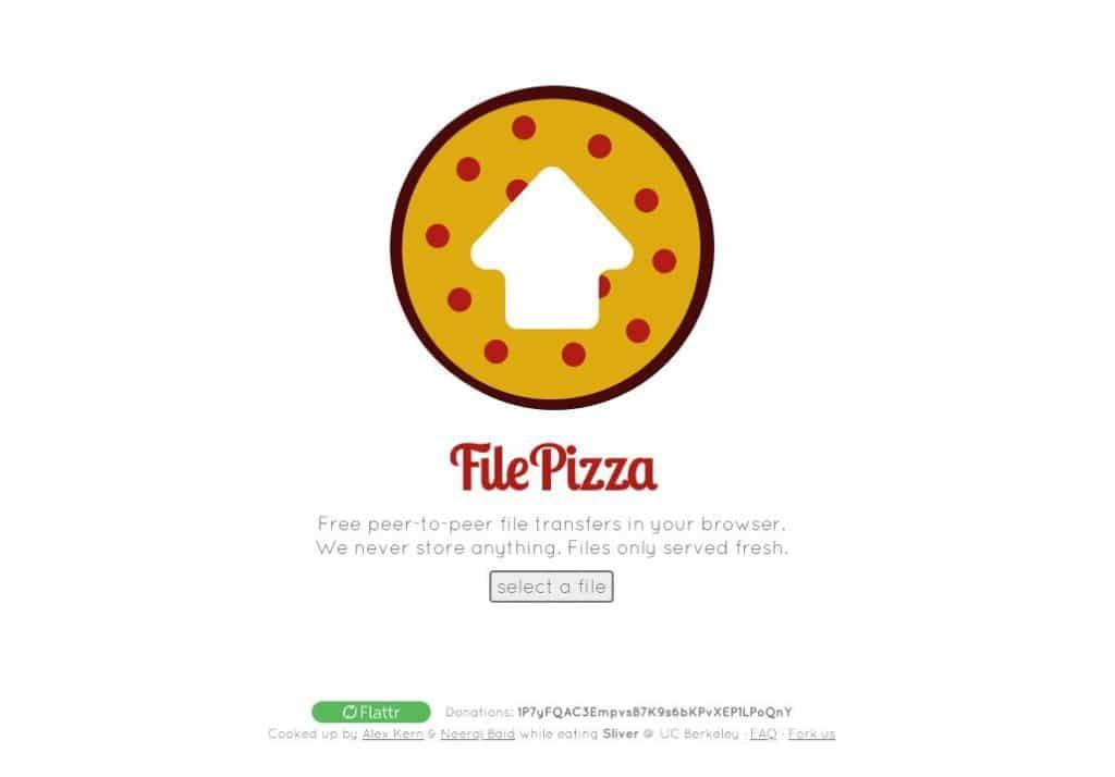 file pizza