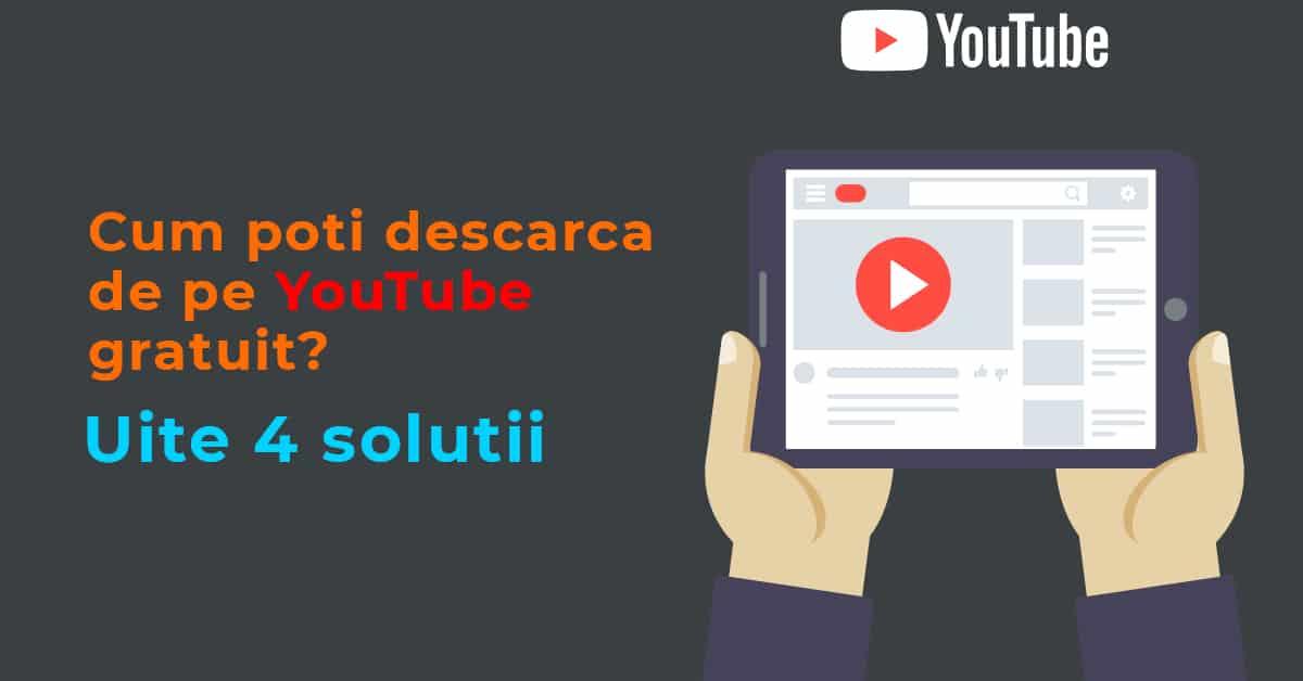 program de descarcat de pe youtube