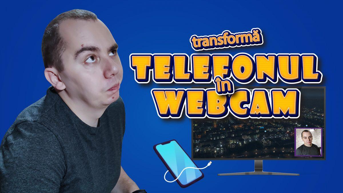 Cum sa iti transformi telefonul Android intr-un webcam gratuit